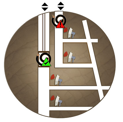 Diagram of RFID Tracking System for Mine Cables