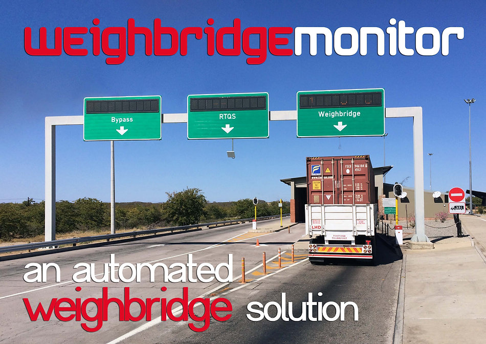 Weigh Bridge Monitor Automated Weigh Bridge Solution