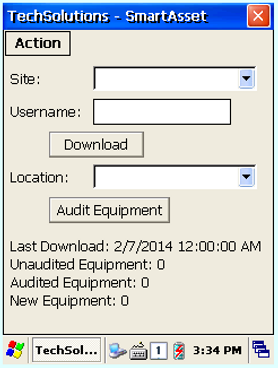 RFID Asset Tracking and Management Log In