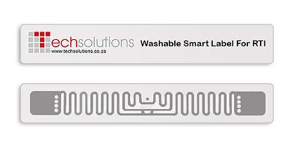 Washable RFID UHF Smart Label for RTI Tracking