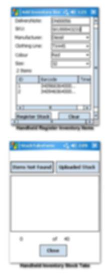 RFID Inventory Handheld Scanner Register and Stocktake