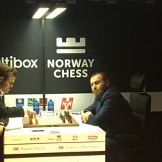 Carlsen and Mamedyarov