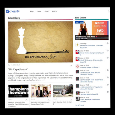 chess24 LATEST NEWS