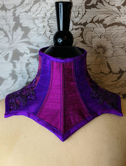 Silk and Lace Posture Collar