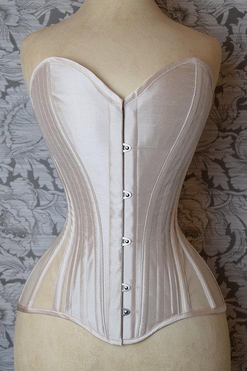 Sheer Silk Overbust