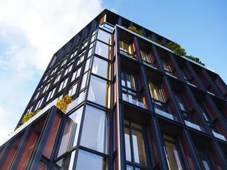 33 Park Row-曼哈顿金融区|市政厅公园上的璀璨黑珍珠 普利策奖建筑师带来美国住宅首秀