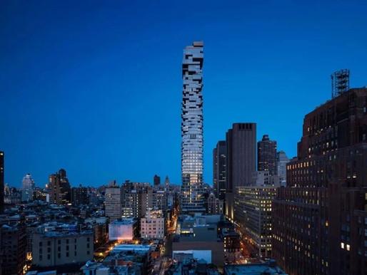 56 Leonard-曼哈顿Tribeca摩天大厦,被评为纽约市最为重要的10座建筑之一
