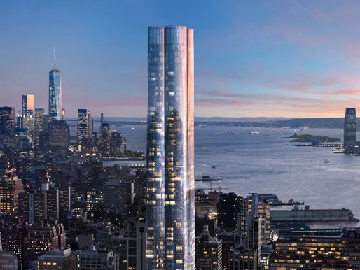 "15 Hudson Yards-曼哈顿新地标哈德逊广场首个住宅楼,开启纽约""城中之城""新世纪,一居室275万美金起售!"