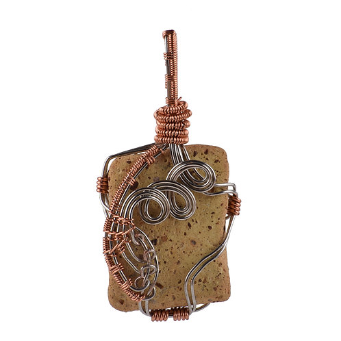 River Stone Wire Wrap