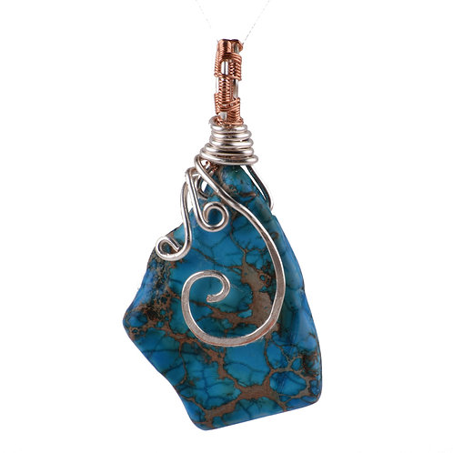 Blue Waves Pendant