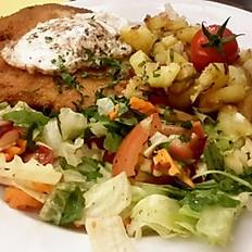 159 - Schnitzel American Dinner