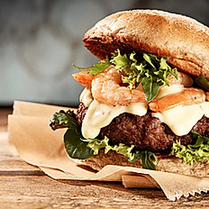 204 - Surf & Turf Burger and Fries