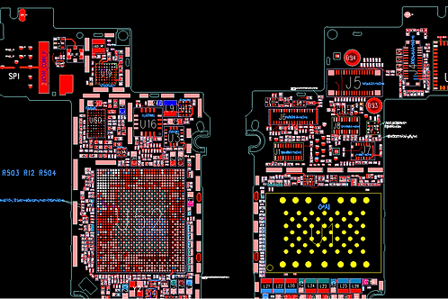 iPhone 4, 4s Schematics PCB Layout