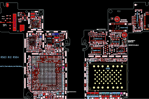 iPhone Xs Max Schematics PCB Layout