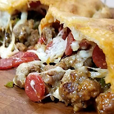 27 - Meat Lovers Calzone