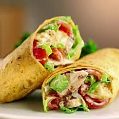 61 - Grilled Bacon Ranch Chicken Wrap