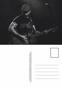 Matze Rossi Welcome Darkness Postcard.jp