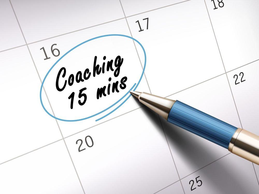 Coaching gratuit 15 minutes