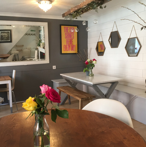 Our upstairs dining room