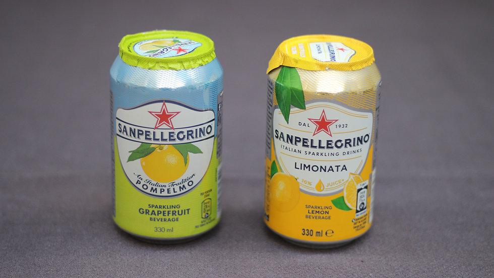 San Pellegrino - lemon or grapefruit