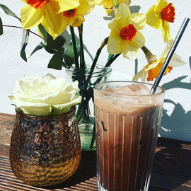 iced latte: the perfect coolant and reviver