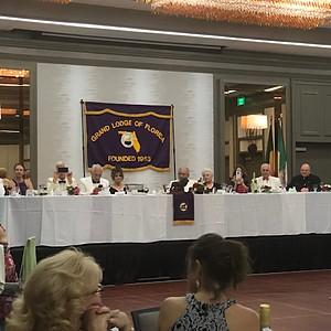 34th Biennium Grand Lodge of Florida
