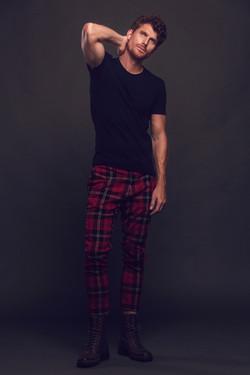 Geoff red pants 2