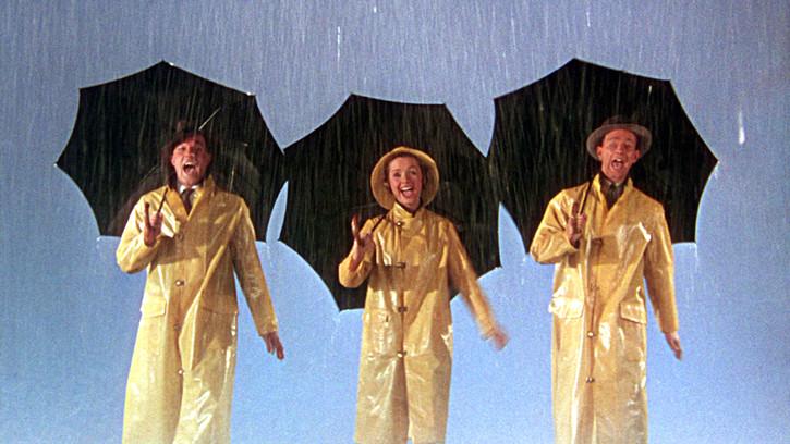 Photo du film Chantons sous la pluie, Stanley Donen, Gene Kelly, Debbie Reynolds, Donald O'Connor