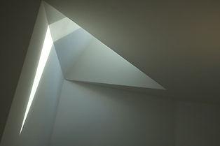 Photo reflets de lumière lignes graphiques