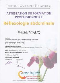 Praticien en réflexologie abdominale, Paris