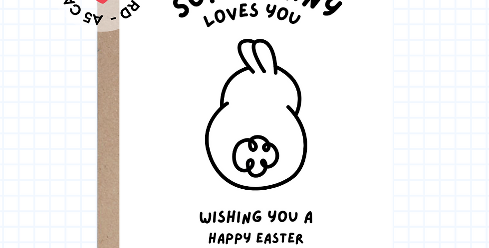 Somebunny • Easter • Greeting Card