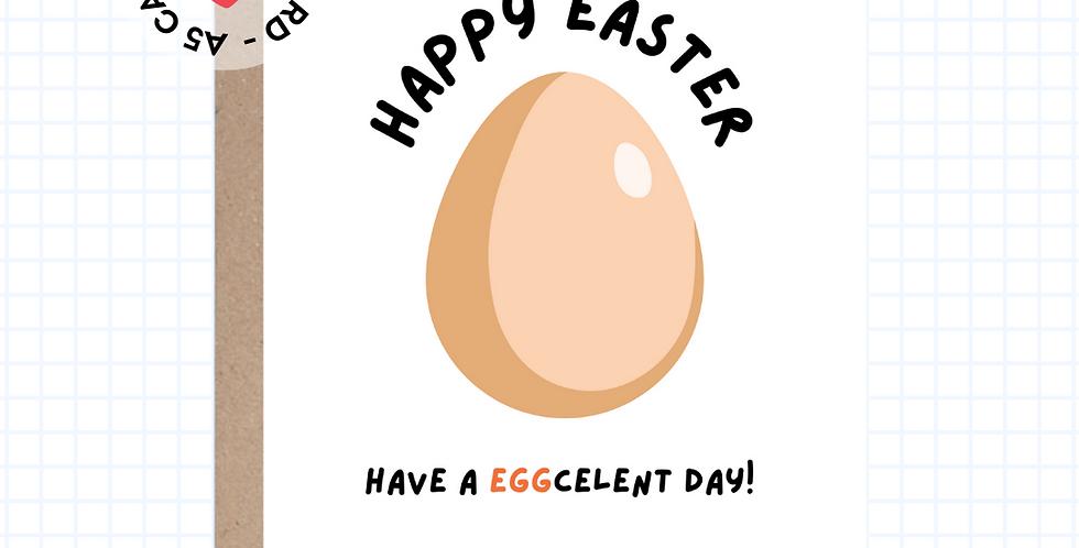 Eggcelent Day • Easter • Greeting Card