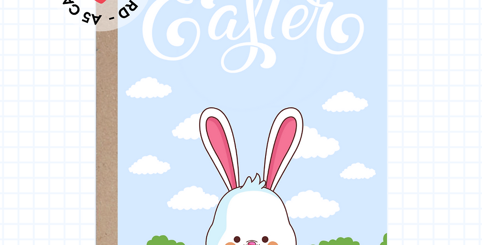 Happy Easter • Greeting Card