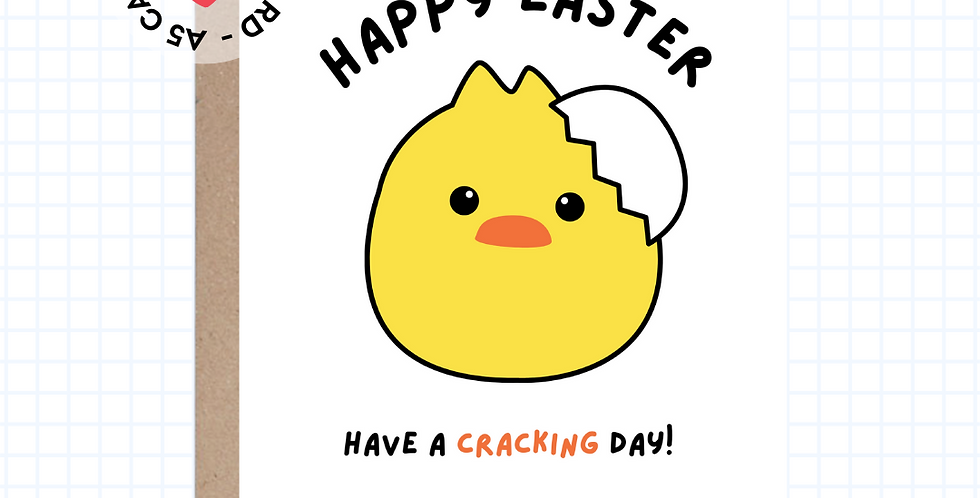 Cracking Day • Easter • Greeting Card