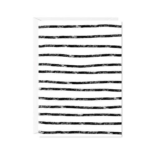 karte mini *zebra-streifen*