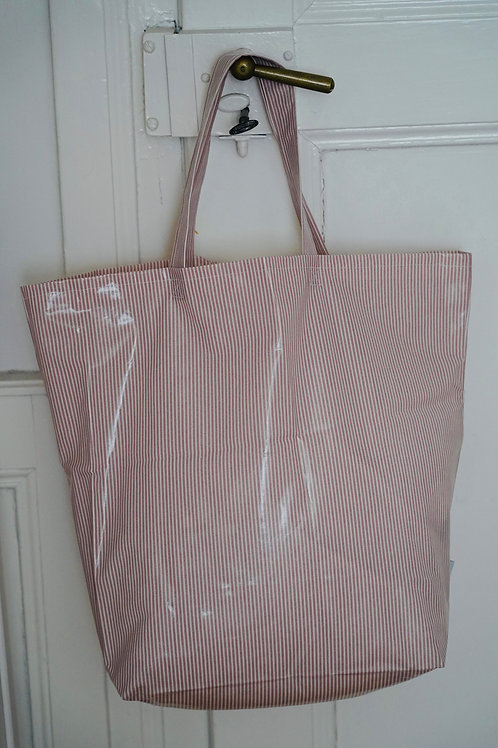 shopping tasche *stripe woodrose*