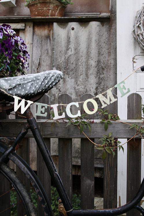 wimpel *welcome*
