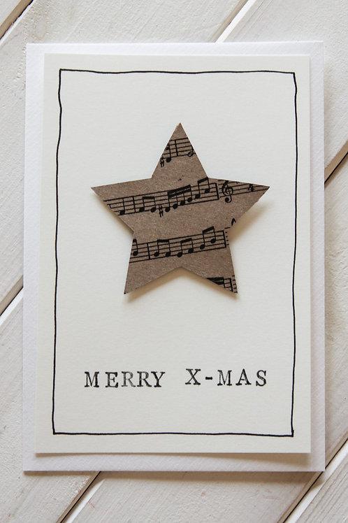 karte spezial *Weihnachtsstern*