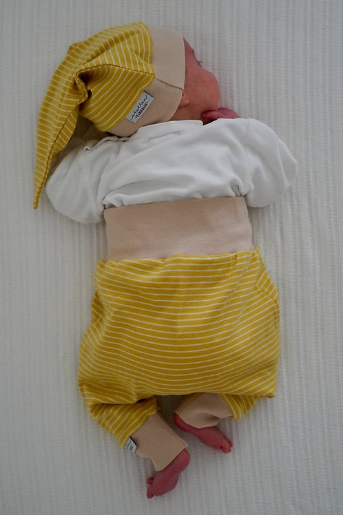 Wohlfühlhose *Little stripes Gold*