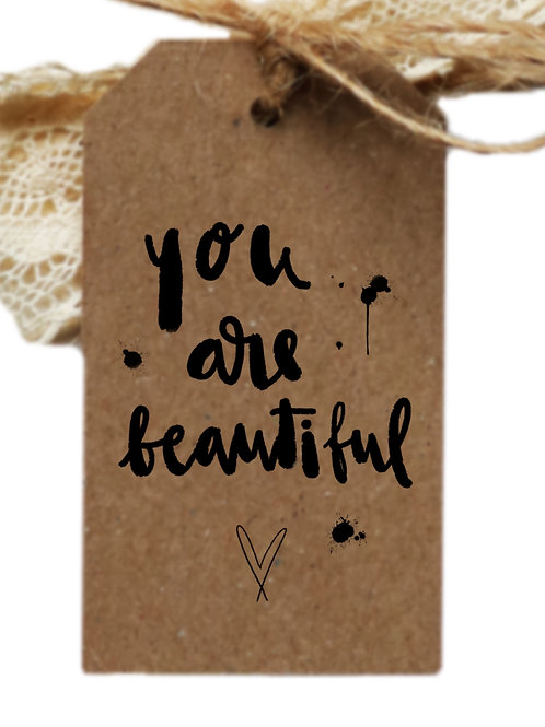 tag *you are beautiful*