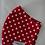Thumbnail: Stoffmaske *erdbeere*