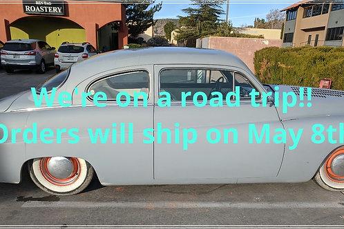 Orders ship May 8th