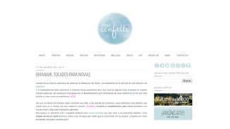 A todo Confetti - Mar 17, 2014