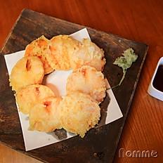 Yam tempura