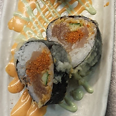 Spicy tuna tempura roll 4 pc