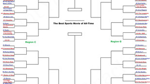 128 sports movies enter 'Best Sports Movie of All-Time Bracket'