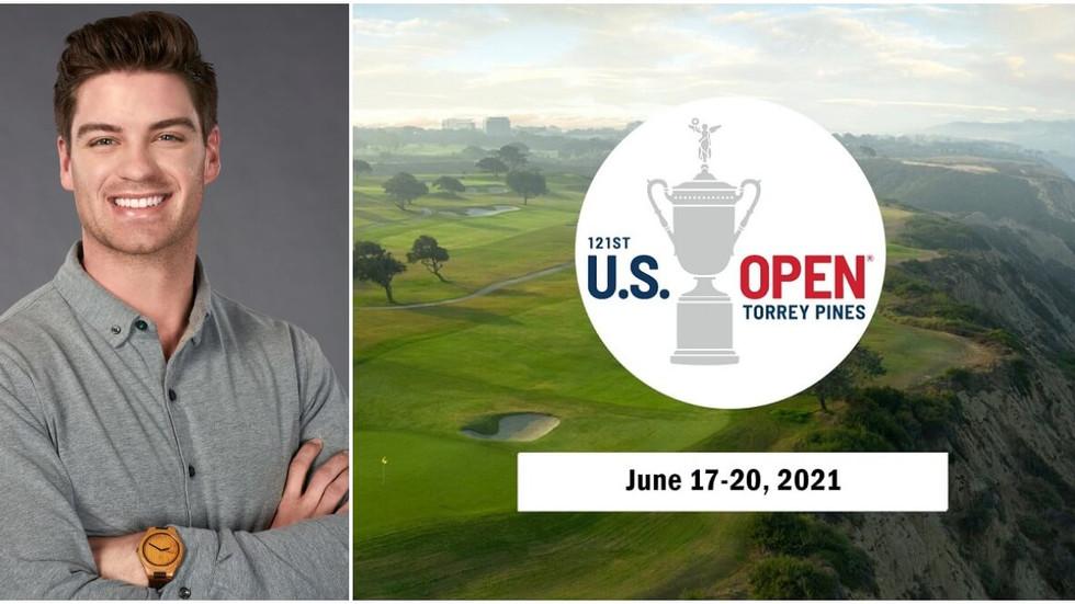 The Bachelorette's Garrett Powell talks golf, US Open, MLB, faith