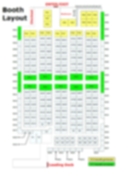 Lone Star Mercantile Booth Layout and Booth Numbers