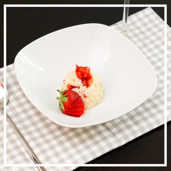 Erdbeerrisotto: jetzt müsst ihr schnell sein