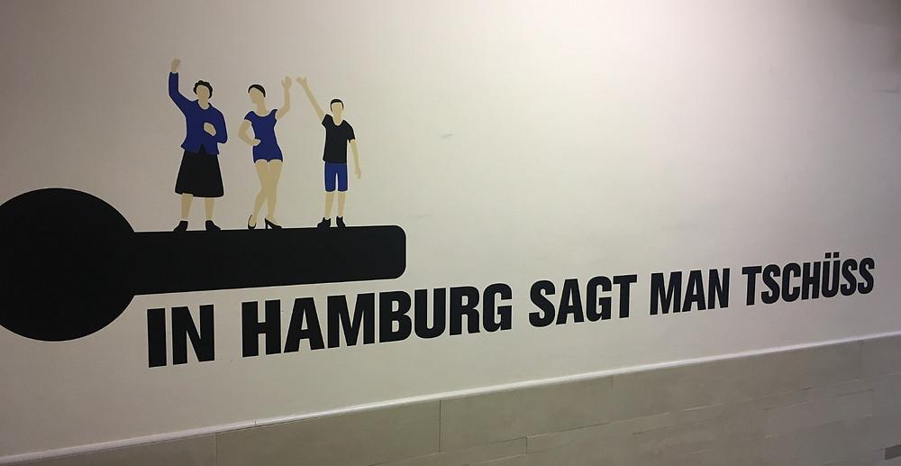 tschüss, Hamburg, Spruch